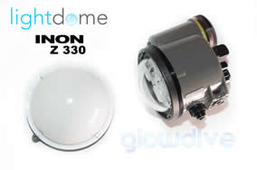 Inon Z330 Light dome diffuser